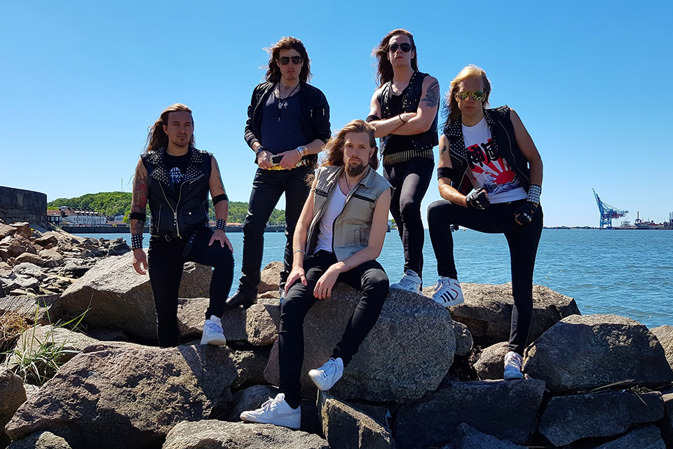 Air Raid heavy metal from Sweden