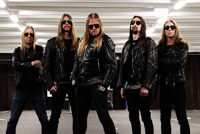 Swedish heavy metal band Ram